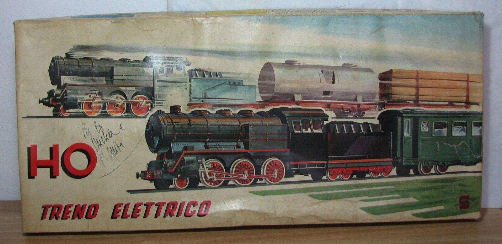 INGAP - TRENO ELETTRICO A BATTERIA HO - ART. 1004 SN MERCI REF. 1230 - ANNI '60