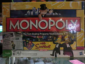 THE SIMPSONS EDITION MONOPOLY ELECTRONIC BANKING READER PARKER BROTHERS NEW
