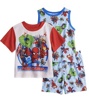 Marvel Boys Avengers 3-Piece Pajama Set