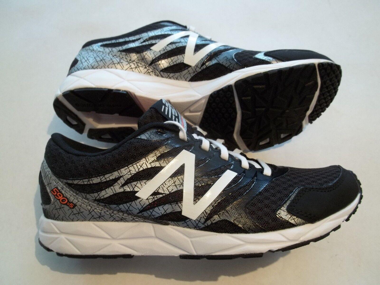 Nouveau New Balance 590 V5 femme Taille 6.5 chaussures B Largeur W590LB5 noir argent