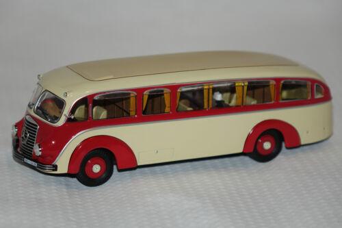Mercedes lo 3500 stromlinienbus beige-rojo 1:43 premium classixxs nuevo /& OVP 12325