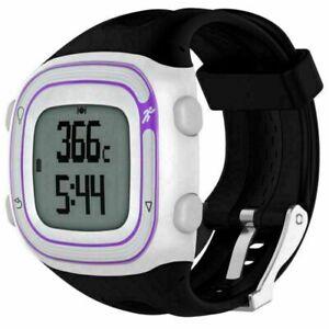 Fuer-Garmin-Forerunner-10-15-Ersatzband-Silikon-Uhr-Armband-Uhrenarmband-Strap