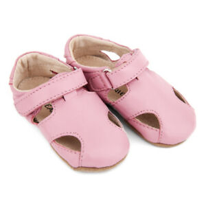 NEW-SKEANIE-Pre-walker-Leather-Sunday-Sandals-Pink-0-to-2-years