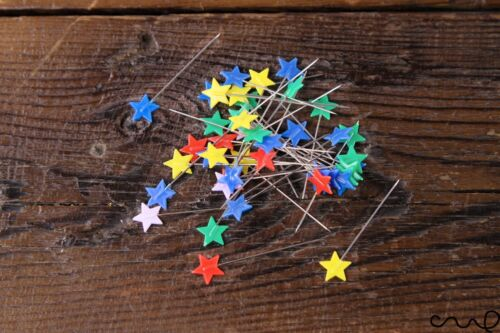 40x44mm Long Star Flat Head Sewing Pins Quilting Dressmaking Serging Upholstery