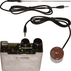 Symbole De La Marque Professionnelle Contact Microphone Super Mur Audio Oreille Dispositif D'écoute Tuyau D'eau-afficher Le Titre D'origine Nouveau Design (En);