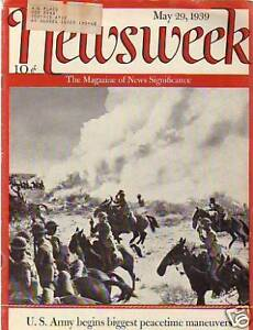 1939-Newsweek-May-29-v-Peacetime-Maneuvers-for-U-S