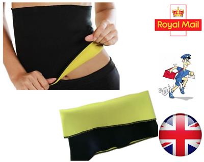 Vereinigt Neoprene Hot Body Waist Fat Slimming Sweat Yoga Belt Gym Thermal Trainer Belt Elegante Form