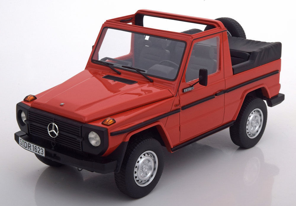 Cult Models 1979 Mercedes Benz G-Klasse W460 Congreenible Red 1 18New Item  NICE