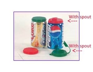 SHIP-DELAY-3-Soda-Can-Lids-with-Pour-Spout-Pop-Beverage-Can-Covers-Tops-Caps