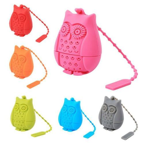 Creative Strainers Tea Filter Bags  Teaspoon Filter Owl Shape QK