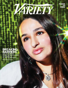 Variety Magazine June 2, 2021 Jazz Jennings Breaking Barriers For Trans Youth