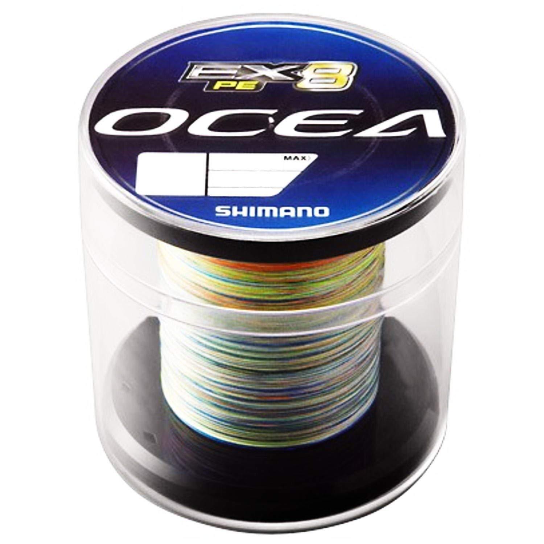 Shimano Ocea EX8 PE concepto Modelo  1.5 33lb 600m PL-098L multiColor con seguimiento