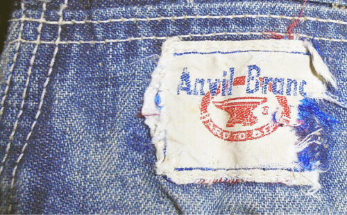Rare- 1940's -Anvil- Vintage Work/Workwear Distres