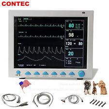 Vet Veterinary Patient Monitor 6 Parameterecgnibpprspo2temprespfedex Usa