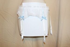 637212b8b51 Image is loading Hanky-Panky-Bridal-Collection-Garter-Belt-Medium-M