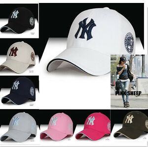 New Women Men Snapback Baseball NY Caps Casual Adjustable Cap Hip Hop Sun Hat