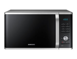 NEW-Samsung-MS28J5255US-28L-Solo-Microwave-Oven-1000W-Silver