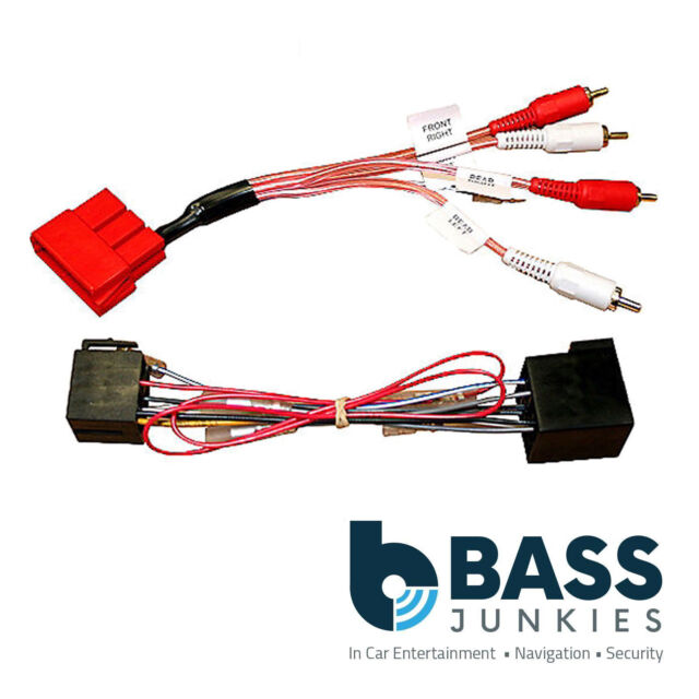 Audi A3 A4 A6 TT BOSE Fully Amplified Front/Rear Bypass Car Stereo Lead CT20AU11