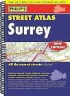Philip's Street Atlas Surrey by Octopus Publishing Group (Spiral bound, 2015)