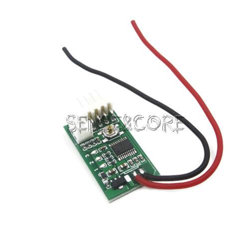 DC 12V PWM Fan Temperature Controller 4-Wire Speed Governor Board