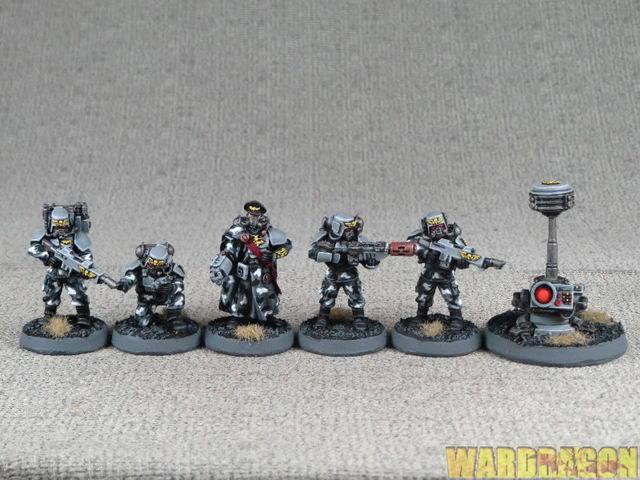 Forge World Wds Pintado Cadian Command Hq escuadrón p29