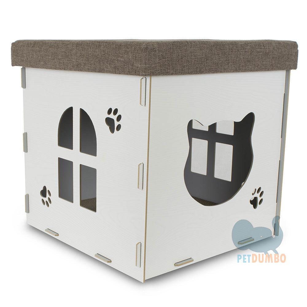 negozio fa acquisti e vendite Casetta per gatto casina casina casina con tiragraffi gatto  qualità autentica