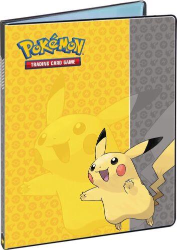 Album//Classeur Pikachu Pokemon Portfolio rangement 160 cartes de poches dossier