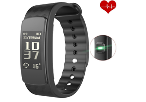 Smart Bracelet Heart Rate Monitor Smart Fitness Activity Pedometer Wristband Sl - <span itemprop='availableAtOrFrom'>Clevedon, United Kingdom</span> - Smart Bracelet Heart Rate Monitor Smart Fitness Activity Pedometer Wristband Sl - Clevedon, United Kingdom
