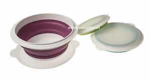 Folding Bowl Set Collapsible Bowls Perfect for Camping and Caravaning