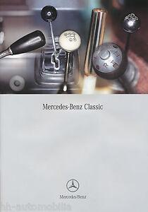Mercedes-Classic-Prospekt-2002-4-02-brochure-prospectus-Katalog-broschyr-Auto