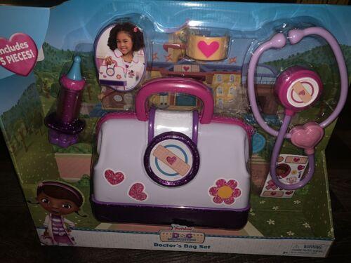 Doc McStuffins ~ Doctor/'s Bag Set 5-Pieces Disney Junior Toy Stethoscope