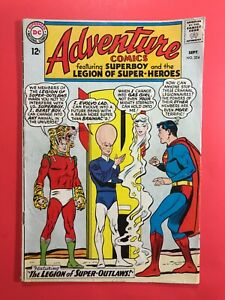 ADVENTURE-COMICS-324-Superboy-and-Legion-of-Super-Heroes-DC-Silver-Age-1964