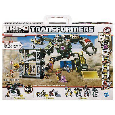 Aroma Offen Kre-o Transformers 36951 Destruction Site Devastator 9 In 1 Bauset Hasbro Duftendes In
