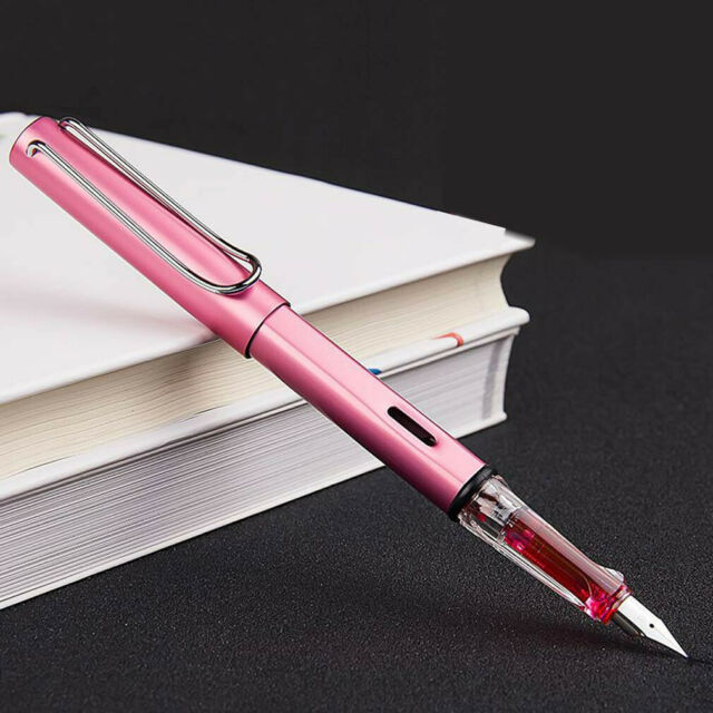 6359 Extra Fine Fountain Pen Pink with Black Trim Wing Sung No