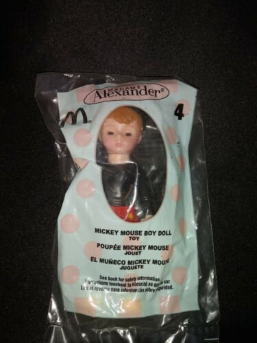 Madame Alexander Boy Doll Wearing Disney/'s Mickey Mouse Outfit w// Mouse Ears NEW