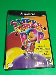 NINTENDO-GAMECUBE-SUPER-BUBBLE-POP-COMPLETE-WORKING-GAME