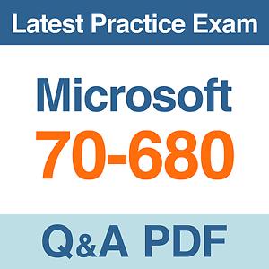Microsoft 70-680 Pdf