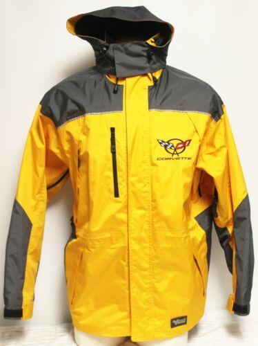 Viking Yellow Chevy Corvette Rain Coat Jacket 2XL