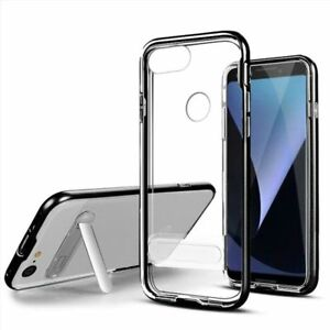 separation shoes 8e89c 6dcc3 Details about For Google Pixel 3/3 XL Clear Vitreous Hard Plastic Case  Cover with stand
