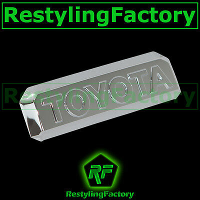 14-15 TOYOTA TUNDRA CrewMax Triple Chrome Tailgate Handle Lever cover 2014 2015