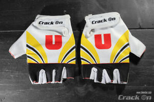 Raleigh System U Retro Road Cycling Team Half Finger Mitts Gloves