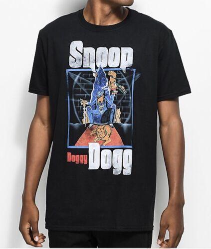 Snoop Doggy Dog Black T-Shirt Size Large
