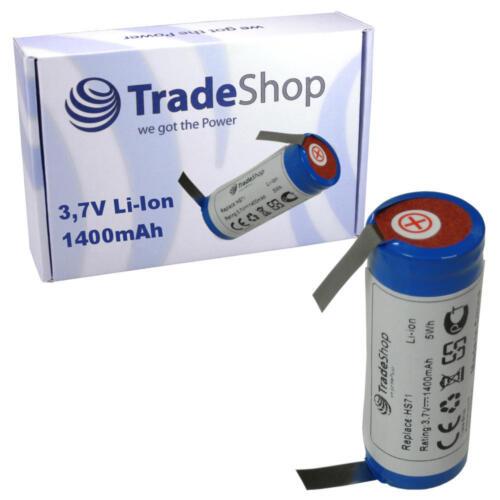 Trade-SHOP BATTERIA 1400mah per Wella Xpert hs71 Profi hs75 Capelli Batteria Schneider