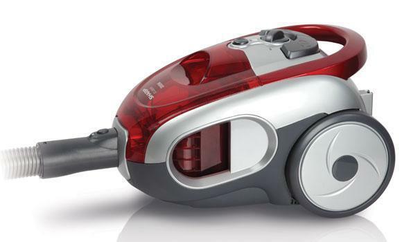 Sharp EC LS20 Bagless HEPA Filter Vacuum Cleaner -  220-240 Volt 50 Hz