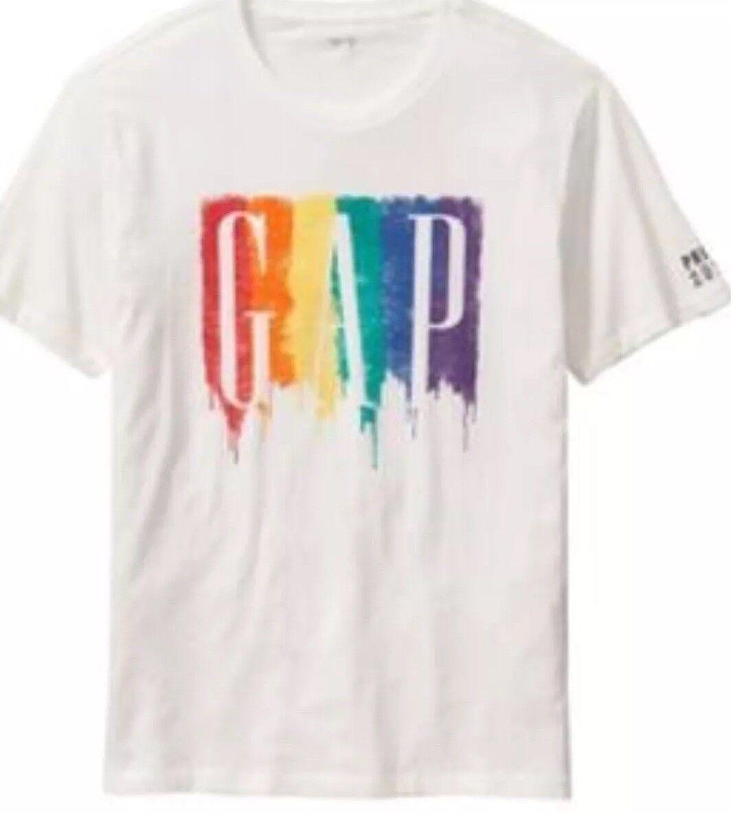 "Brand New- Exclusive GAP ""Pride"" T-Shirt Men's (Size XL)"