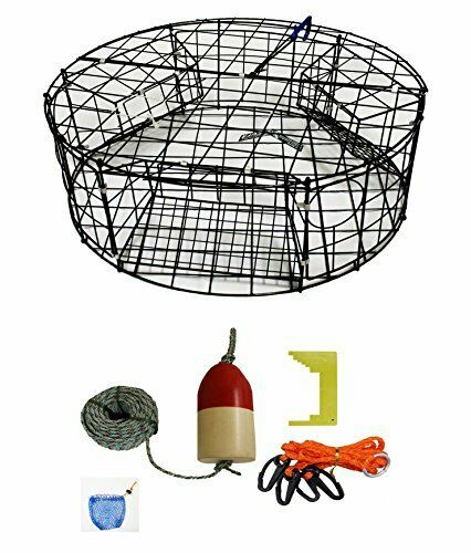 KUFA Vinyl Coated Round  Crab Trap & Accessory Kit (CT110+CAQ1)  wholesale cheap and high quality