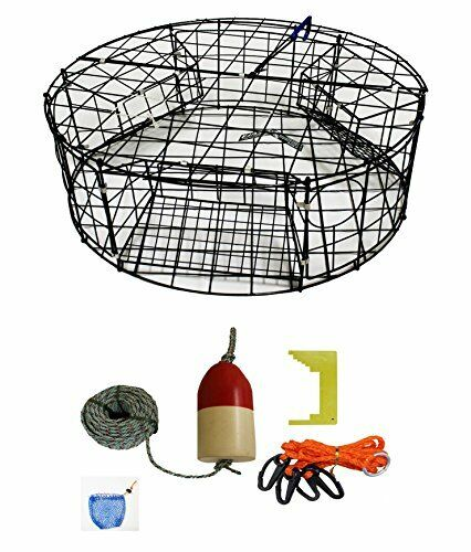 KUFA Vinyl Coated Round Crab  Trap & Accessory Kit (CT110+CAQ1)  free and fast delivery available