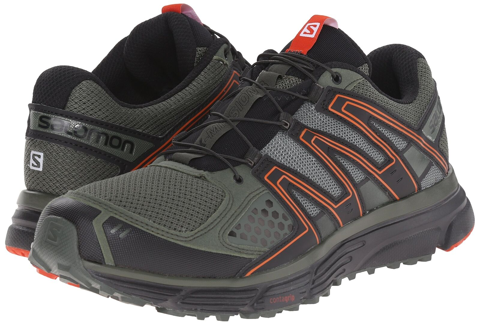Salomon Men's X-Mission 3 Trail Running shoes Sneakers, Night Forest, 7.5 M US