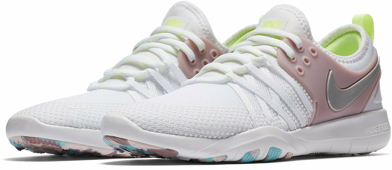 Da Donna Nike Free TR 7 Taglia 6 EUR EUR EUR 40 (904651 102) bianco/rosa/Volt | Forte calore e resistenza all'abrasione  | Gentiluomo/Signora Scarpa  b7b7c3