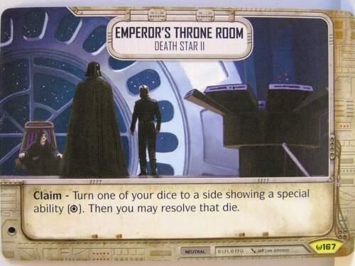 #167 Emperor/'s Throne Room Star Wars Destiny Awakenings